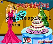 Cooking Barbie cake spiele online